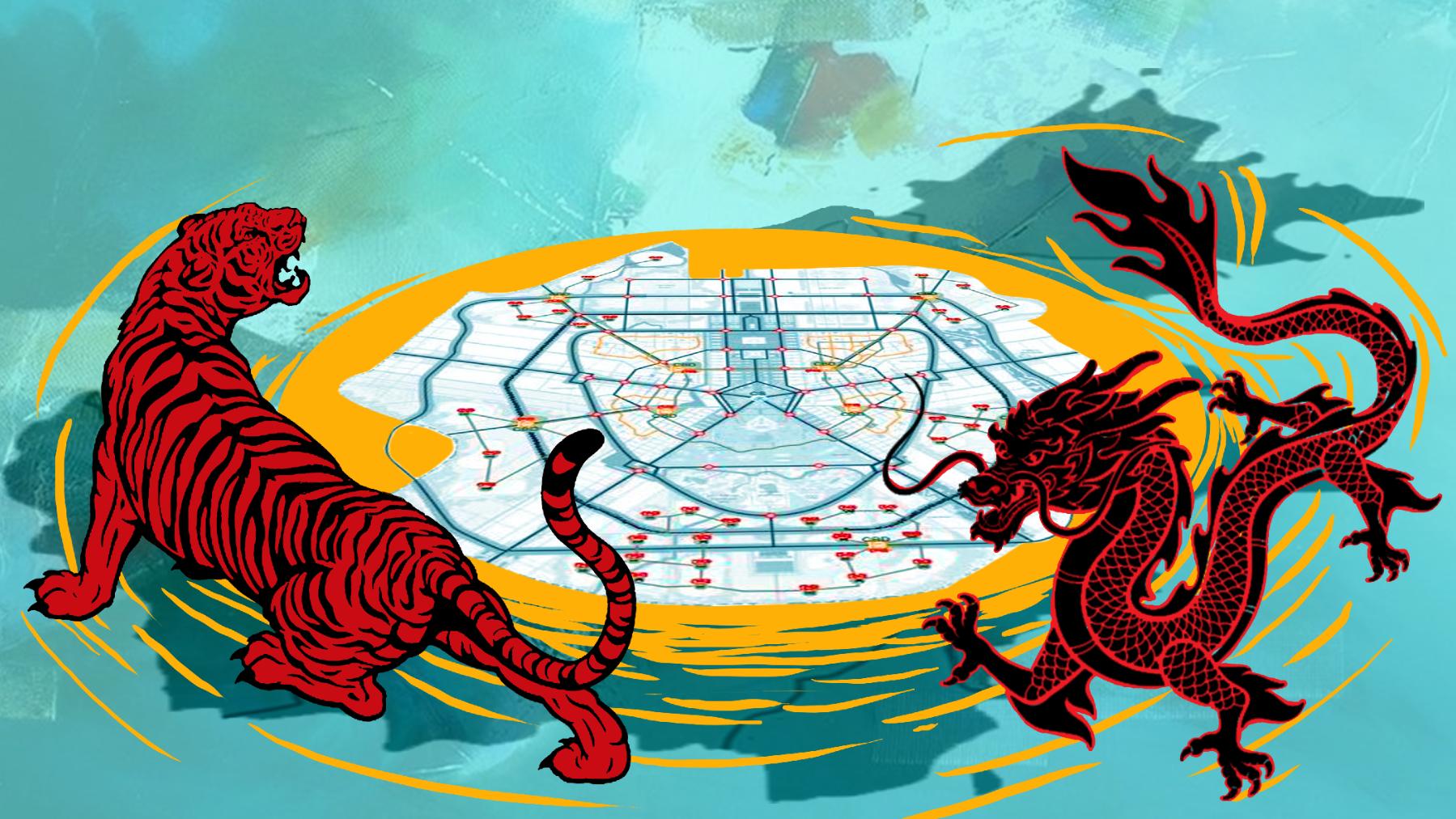 Ibu Kota Baru Yang Diapit Naga Dan Macan