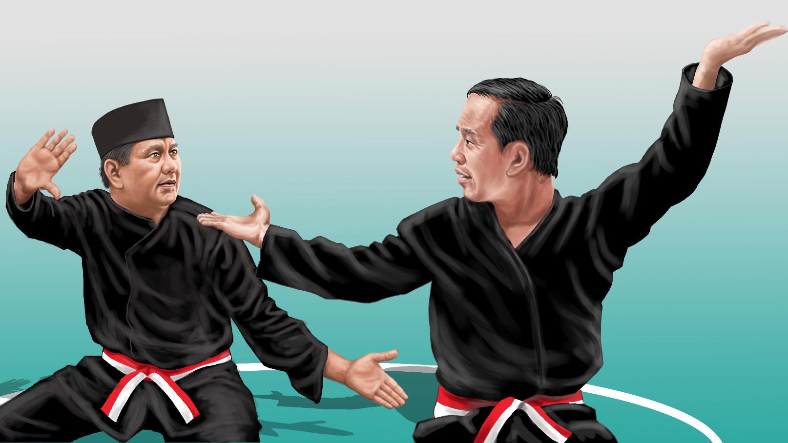 Pencak Silat Dari Sukarno Hingga Jokowi