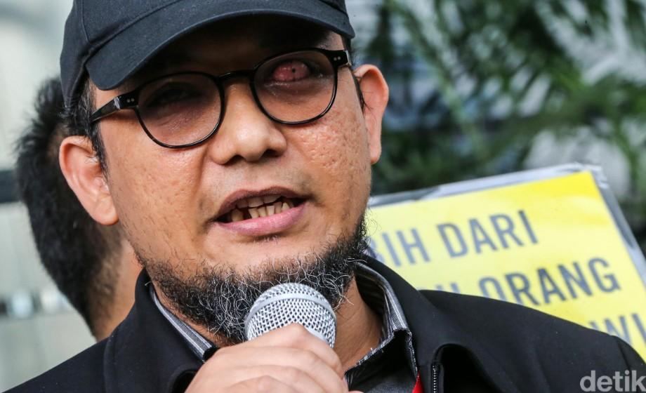 KPK Detail: Novel Dan Teror Ke KPK Yang Belum Berakhir